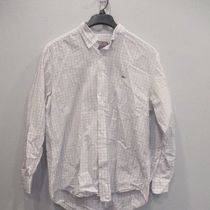 Vineyard Vines Plaid Men's Button Down Large